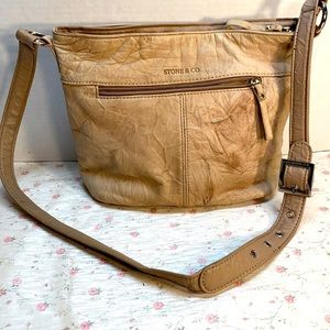 Stone & Co Leather Bag